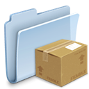 package, pack, badged, Folder LightSteelBlue icon