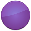 Blank, purple, Empty, Badge SlateBlue icon