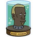 dennis, rodman Black icon