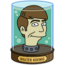 head, koenig, walter Black icon