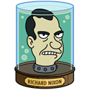 head, Nixon, richard Black icon