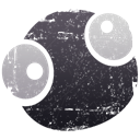 world, earth, globe, Goo DarkSlateGray icon