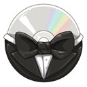 Bowtie DarkSlateGray icon