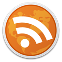 subscribe, feed, Rss, reader Chocolate icon