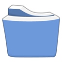 Blue, light, Energy, tip, Folder, hint CornflowerBlue icon