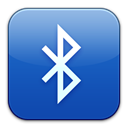 document, paper, Bluetooth, exchange, File RoyalBlue icon