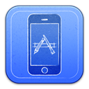 mobile phone, smartphone, Iphone, Cell phone, simulator RoyalBlue icon