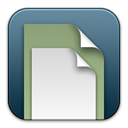 paper, document, File SlateGray icon