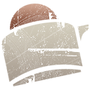 food, toast Silver icon