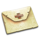 Email, Letter, envelop, Message, mail, plain PaleGoldenrod icon