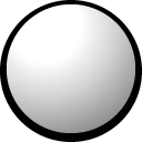 snowball Black icon