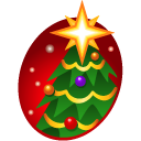 christmas Black icon