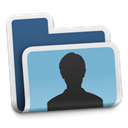 user, people, Folder, Human, profile, Account SkyBlue icon