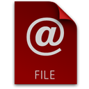 File, paper, location, document Maroon icon