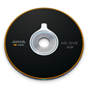 Rw, Hd, disc, Dvd Black icon