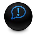 speak, Comment, Chat, Alt, talk Black icon