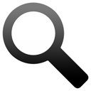 Find, search, seek Black icon