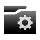 smartfolder Black icon