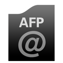 Afp Black icon