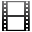 film, video, movie Black icon