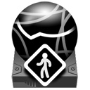 idiskpublic Black icon