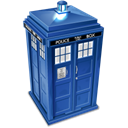 Tardis Black icon