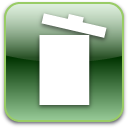 Trash, Full, recycle bin DarkSeaGreen icon