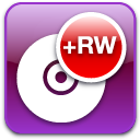 Dvd, disc, Rw DarkOrchid icon