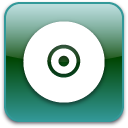 disc, Disk, save, Cd SeaGreen icon