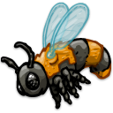honeybee Black icon
