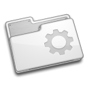 Folder, Smart, rev WhiteSmoke icon