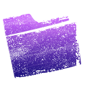 purple, Folder Black icon