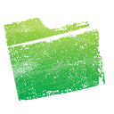 Folder, green YellowGreen icon