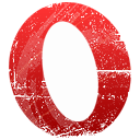 Opera, Browser Crimson icon