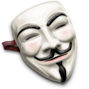 Guy, Mask, fawkes WhiteSmoke icon