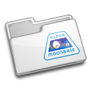 Folder, Alpha Gainsboro icon