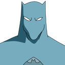 freeze, Anti, Batman CadetBlue icon