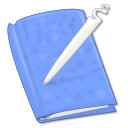 Journal CornflowerBlue icon