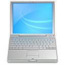 inch, Powerbook LightSkyBlue icon