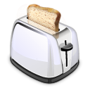 retro, Toaster Gainsboro icon