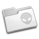 Folder, Alien Gainsboro icon