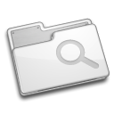 Folder, view WhiteSmoke icon