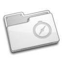 site, Folder WhiteSmoke icon