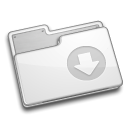 Folder, drop WhiteSmoke icon