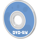 Dvd, disc, Rw CornflowerBlue icon