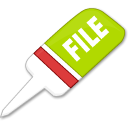 File, document, paper Black icon