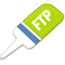 Ftp Black icon