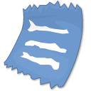 Text, document, Clipping, File CornflowerBlue icon
