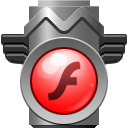 Tp, Flash DimGray icon