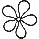 nature, Plants, Flourish, blossom, petals, Bloom Black icon